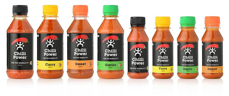 brand design for chilli sauce