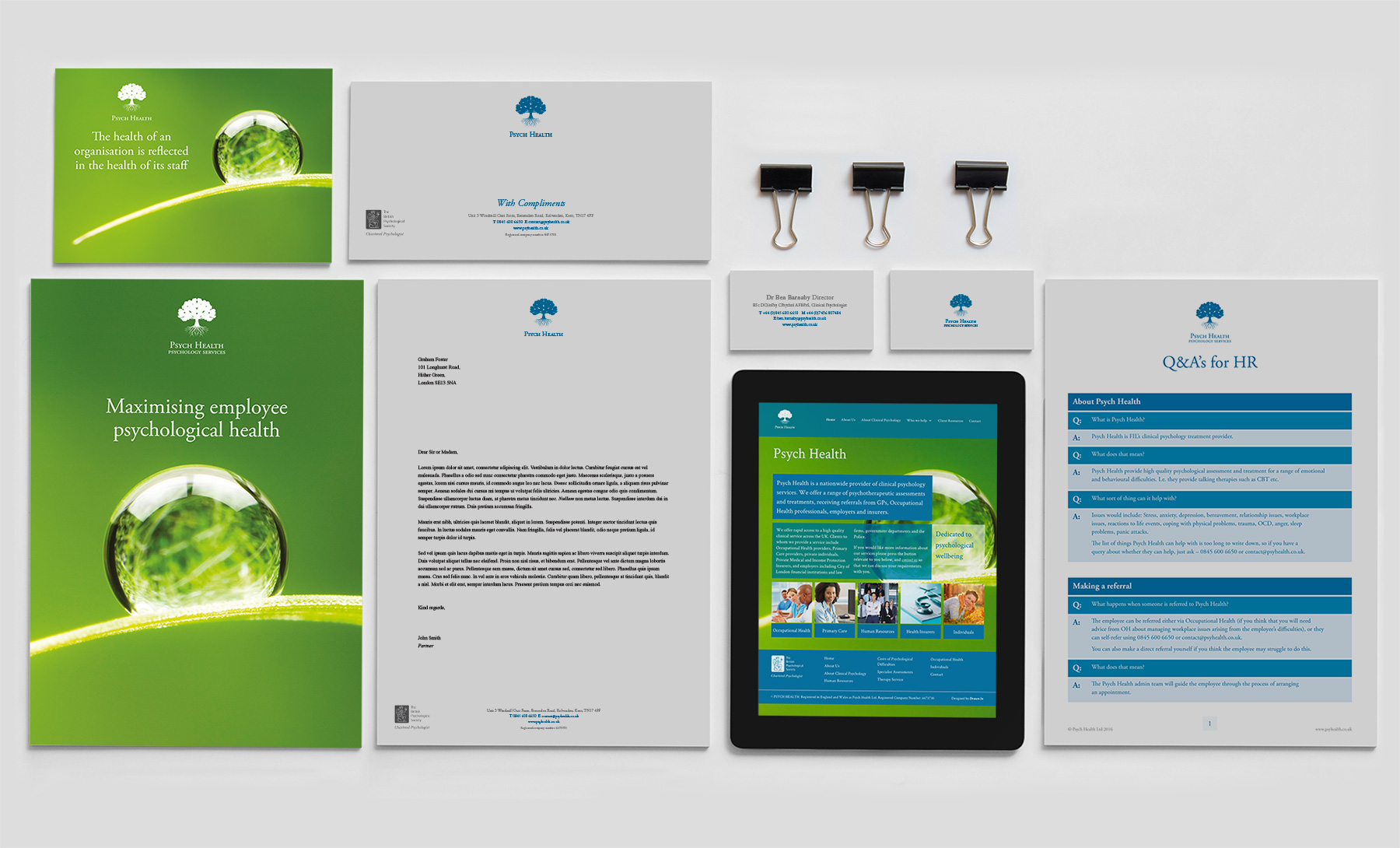 brand design for psychologists