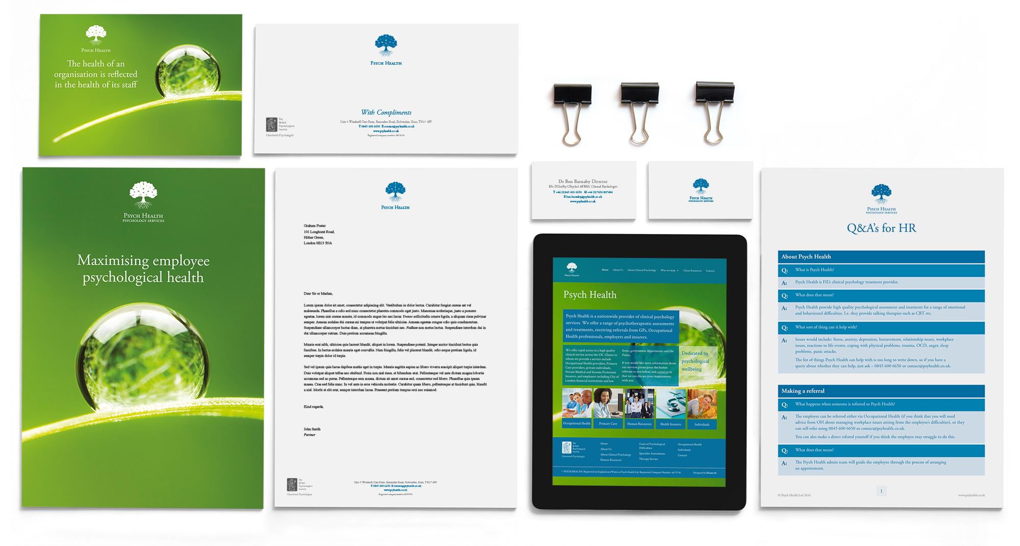 Psych Health brand design